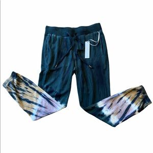 NWT Young Fabulous & Broke Tie Dye Pants Sz M